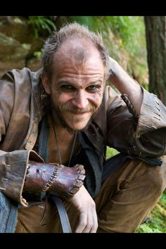 Floki, I adore this character! Intially I thought he was going to be the comic relief character, but he developed into one of the most complex and dark characters on the show