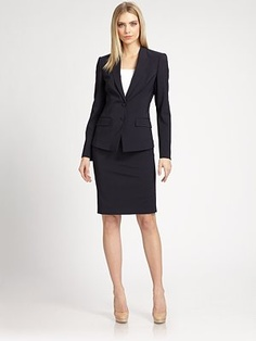 boss black ministripe stretch wool blazer