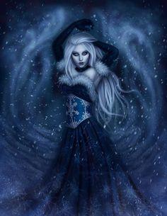 Winter Witch by Enamorte.deviantart.com on @deviantART