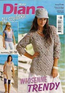 Crochet Moda Ganchillo - AM - Revistas de Manualidades