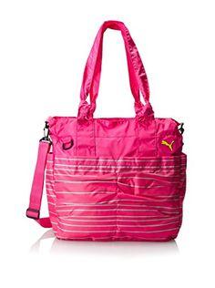PUMA Women's Studio Tote Bag, Beetroot Purple/Multi