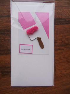 Handmade New Home card | Flickr - Photo Sharing!