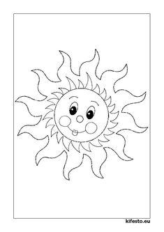 """Képtalálat a következőre: """"napos színező"""""""