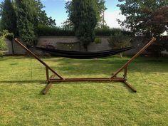 How I made my fold-able hammock stand – Outdoor & DIY blog  #outdoorsdiy