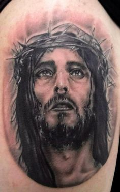 15 Best Jesus Tattoo Designs with Best Pictures - Buy lehenga choli online Cross Tattoo Designs, Tattoo Designs And Meanings, Best Tattoo Designs, Tattoos With Meaning, Tattoo Henna, Tattoo You, Love Tattoos, Picture Tattoos, Jesus Tattoo Design