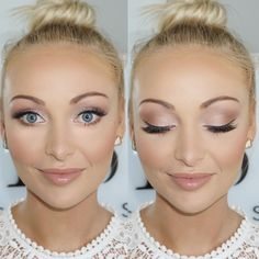 LIEBE das Leuchten in diesem Make-up. Die pfirsichfarbenen Farben passen so gut zu … – Abschlussball Make Up LOVE the glow in this makeup. The peach-colored colors are so great for … – Prom Make Up – Natural Wedding Makeup, Bridal Hair And Makeup, Prom Makeup, Wedding Hair And Makeup, Wedding Beauty, Hair Makeup, Bridesmaid Makeup Natural, Summer Wedding Makeup, Homecoming Makeup