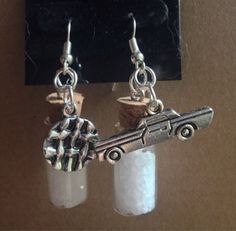 Supernatural Dean Inspired Earrings by TraceyGurney on Etsy