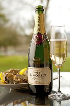 Simonsig Kaapse Vonkel - the first Method Cap Classique to be made in South Africa.