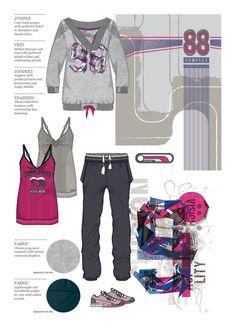 Fitness Trend | Womenswear Sports Fashion