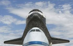 Spaceshuttle Discovery at it's final destination in DC, going to the Smithsonian, 4/17/12