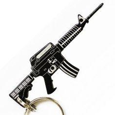 m4 gun style key chain bottle opener by bottles up lightweight keychain bottle opener. Black Bedroom Furniture Sets. Home Design Ideas