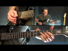 Guns N' Roses - Welcome to the Jungle Guitar Lesson - Part 1 - YouTube