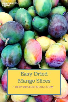 Enjoy these homemade dried mango slices for the whole family to enjoy. Raw Dessert Recipes, Raw Food Recipes, Jar Recipes, Freezer Recipes, Freezer Cooking, Drink Recipes, Best Junk Food, Junk Food Snacks, Healthy Snacks To Buy