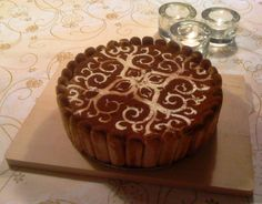 Beautiful decorated Tiramisu by Jo