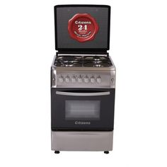 Citizens CF-6631-IOGIT 60x60 Free Standing Gas Cooker 3Gas + 1Elect  Crystal Series Free Standing Gas Cookers, Citizen, Crystals, Design, Crystal, Crystals Minerals