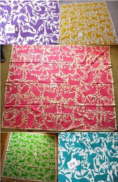 otomi textiles (Mexico) - my new favorite.  Love.