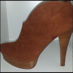 Brand new ankle bootie. Brand new still in box cognac ankle bootie. Bakers Shoes Ankle Boots & Booties