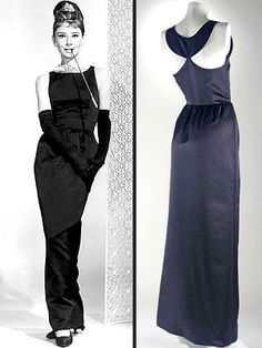 "Givenchy's ""Breakfast at Tiffany's"" little black dress."