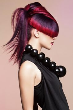 Avant-Garde Hair Designs #hairdressing #avantgarde #peinado #vanguardia #inspiration #HandmadeBCNStudio #HairArt #Hair