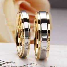 Divat 925 Ezüst Gyűrűk szerelmeseinek 18K Aranyozott Női - Férfi gyönyörű karikagyűrű. 18k aranyszín és ezüstszínnel vegyesen. Termék ID: 32255976762  ►Méretek: 49,51,52,54,56,57,59,62,64,67,70mm  ►Ára: 4500,-/db párban történő vásárlás esetén kedvezmény.