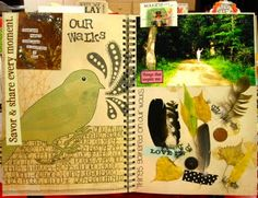 An example of mixed journaling techniques. Lovely!