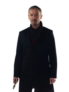 First look at John Simms Master in his new Doctor Who costume #DoctorWho