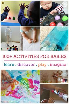 We love all these activities for babies that think outside of the box and get your baby engaged and having fun!