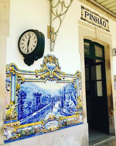 Estação de Comboio de Pinhão, Portugal