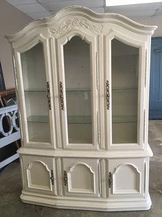 Beau From Shabby Chic Texas · Here Is A Gorgeous Display Cabinet. It Would Go  Great With The Table I Posted