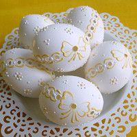 Decoupage, Eggs, Easter, Desserts, Diy, Food, Wood, Tailgate Desserts, Deserts