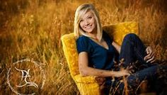 I like the whole chair thing outside with flowers in the back groundsenior picture ideas for girls - Bing Images