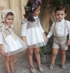Toddler Fashion, Toddler Outfits, Boy Outfits, Girl Fashion, Baby Girl Party Dresses, Baby Dress, Flower Girl Dresses, Girls Special Occasion Dresses, Wedding With Kids