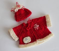 2tlg-Set-Jacke-Muetze-fuer-ca-30-35cm-Baeren-Weihnachten-Winterset-Nikolaus-NEU
