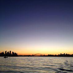 Sydney on a boat by jeroxie • Instagram