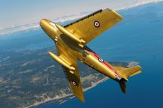 RCAF Golden Hawks using the Sabre Jet, forerunner of The Snowbirds display team Aviation Image, Aviation Art, Military Jets, Military Aircraft, Fighter Aircraft, Fighter Jets, Sabre Jet, Military Crafts, Strength