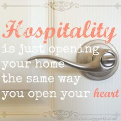 Hospitality Starts with Your Heart