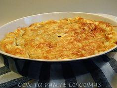 Con tu pan te lo comas: PASTEL DE POLLO CON HOJALDRE ✿⊱╮Teresa Restegui http://www.pinterest.com/teretegui/✿⊱╮