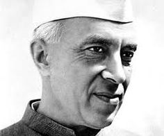 Jawaharlal Nehru - The First Prime Minister of India, after India's Independence on Aug. 15, 1947