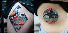 Pitta KKM tattoos