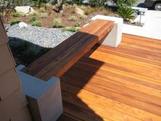 The Falling Waters Bench