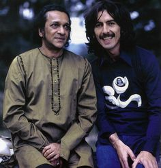 Ravi Shankar & George Harrison....Rest in Peace Ravi Shankar