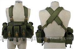 Matrix Navy Seal Load Bearing High Speed Chest Rig / Cordura - OD Green, Tactical Gear/Apparel, Chest Rigs & Harnesses - Evike.com Airsoft Superstore