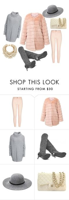 """Puuteritalvi"" by jiroutconsulting on Polyvore featuring River Island, Hunkydory, Ashley Stewart, Chanel and Kate Spade"