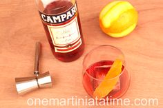 Negronis and The Boulevardier