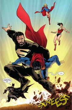 ... Death Of Superman (New 52) ...