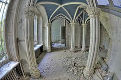Abandoned  - Miranda (by Bas van Duijn)....love the ceiling