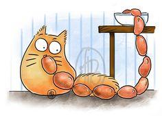 смешные коты рисунки: 21 тыс изображений найдено в Яндекс.Картинках