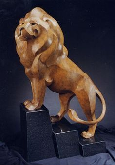 Vigilance - Male African Lion by Rosetta