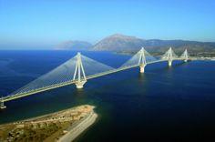 Le Pont Antirion en Grèce