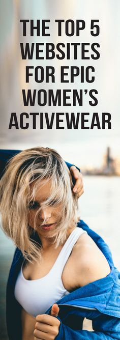 These are the top 5 women's activewear sites you will absolutely love! We sure are obsessed with these stores that maximize comfort and style. Who said you can't look good while you sweat? Work out in style, and for some extended motivation, wear these fitness clothes all day. This way you are already prepared for your workouts and have no excuse not to hit the gym. fitness, active, activewear, best, fashion. #sporty #trendy #gymtime #workout #women #yoga
